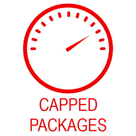 capped wireless packages